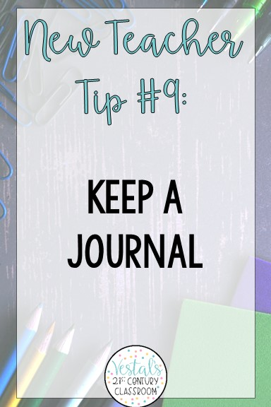 advice-for-new-teachers-journal