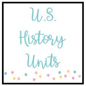 U.S. History Units