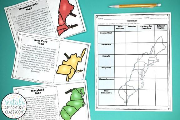 13-colonies-lesson-plans