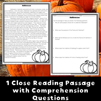 halloween-passage-and-questions