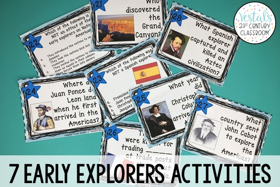 early-explorers-task-cards
