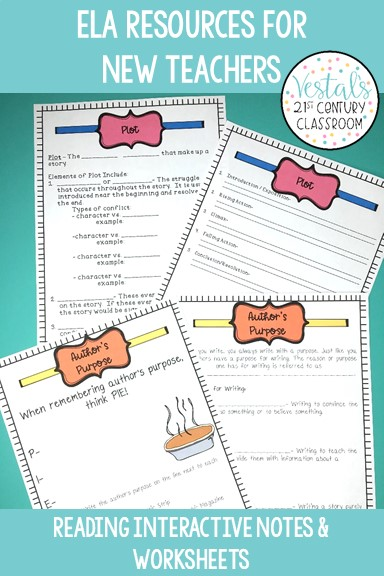 ela-resources-for-new-teachers-reading-worksheets