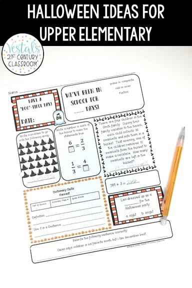 halloween-classroom-ideas-morning-work