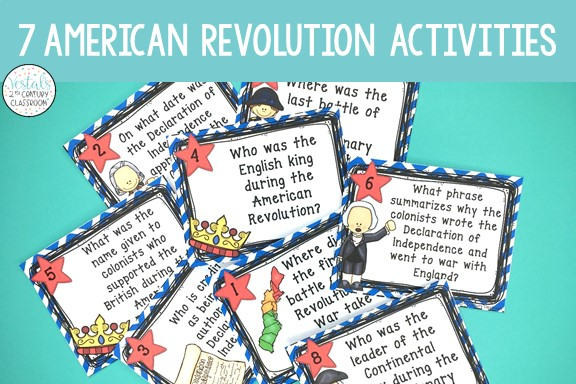 american-revolution-activities-task-cards