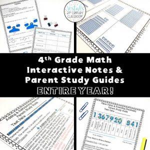 4th-grade-math-interactive-notes-parent-study-guides