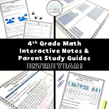 4th-grade-math-interactive-notes-parent-study-guides