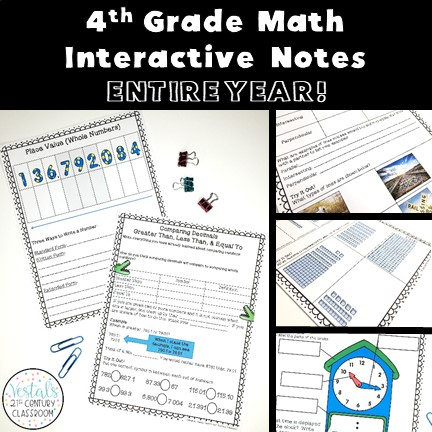 4th-grade-math-interactive-notes