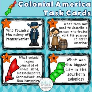 colonial-america-task-cards