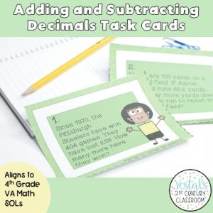 adding-and-subtracting-decimals-task-cards