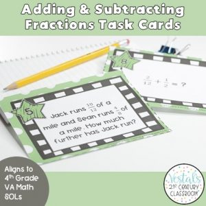 adding-and-subtracting-fractions-task-cards