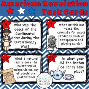 american-revolution-task-cards