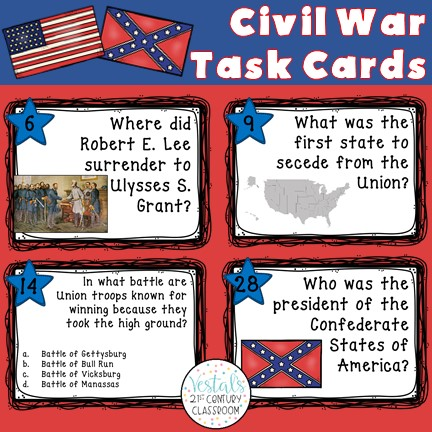 civil-war-task-cards