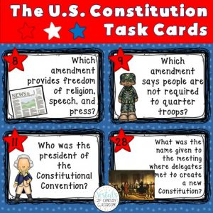 constitution-task-cards