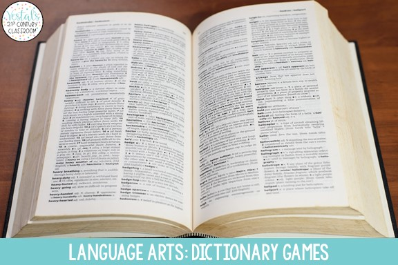 dictionary-games