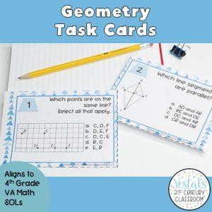 geometry-task-cards