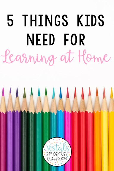 things-kids-need-for-learning-at-home-pin