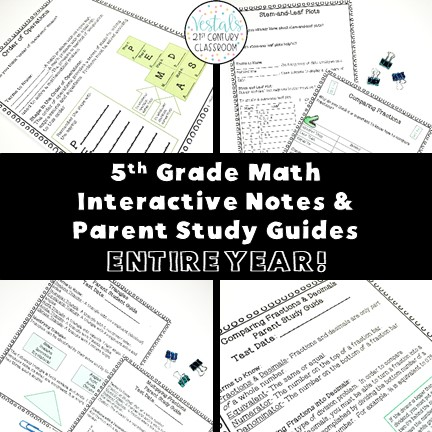 5th-grade-math-interactive-notes-parent-study-guides