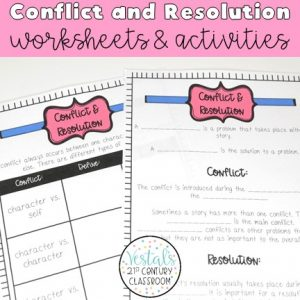 conflict-and-resolution-worksheets-and-activities