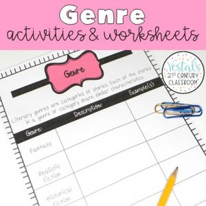 genre-activities-and-worksheets