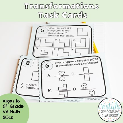 transformations-task-cards