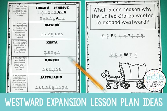westward-expansion-activities