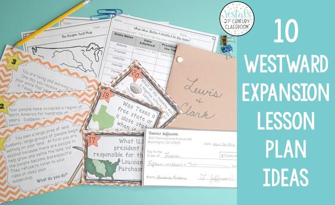 westward-expansion-lesson-plan-ideas