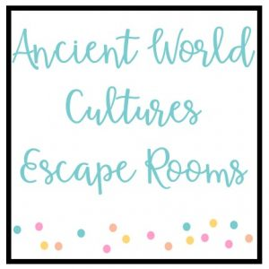 Ancient World Cultures Escape Rooms