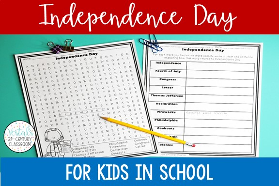 independence-day-worksheet