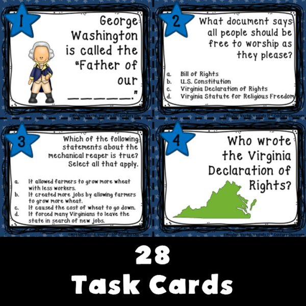 virginia-studies-a-new-nation-task-cards