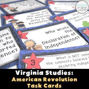 virginia-studies-american-revolution-task-cards