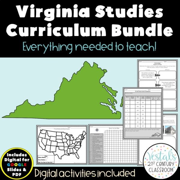 virginia-studies-curriculum-bundle