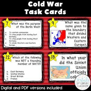 cold-war-task-cards
