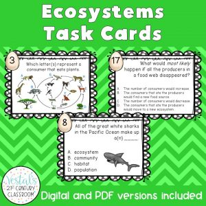 ecosystems-task-cards