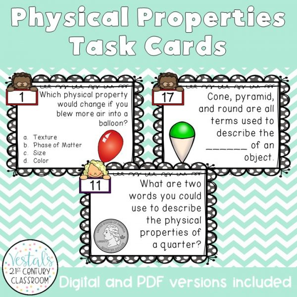 physical-properties-task-cards