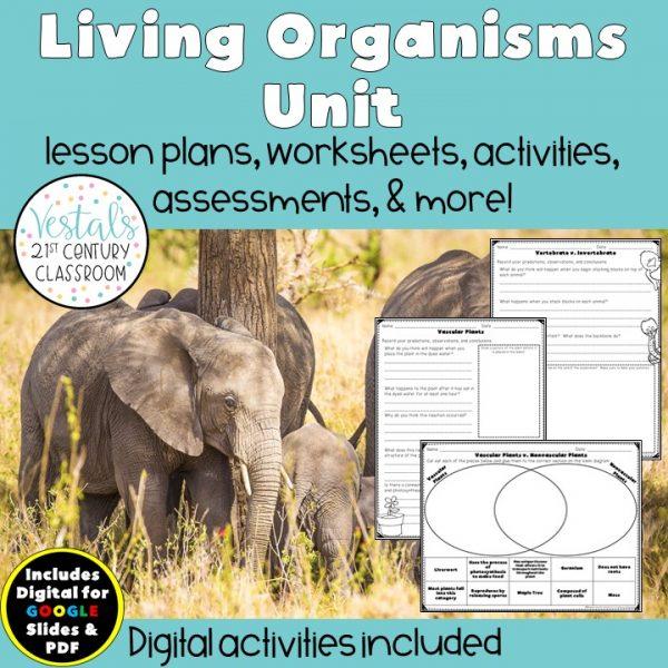 living-organisms-unit