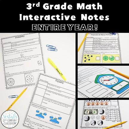3rd-grade-math-interactive-notes