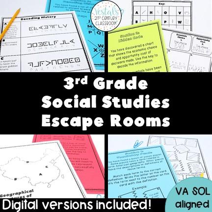 3rd-grade-social-studies-escape-rooms