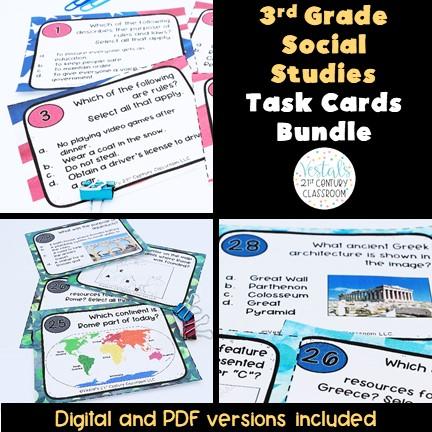 3rd-grade-social-studies-task-cards-sol-aligned