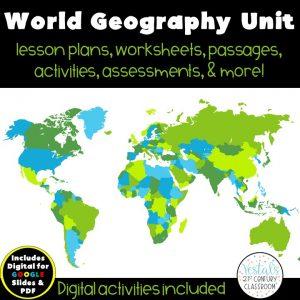 world-geography-unit