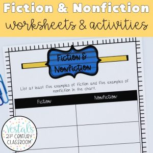 fiction-and-nonfiction-worksheets-and-activities