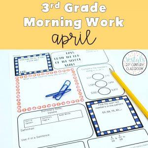 3rd-grade-morning-work-april