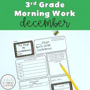 3rd-grade-morning-work-december
