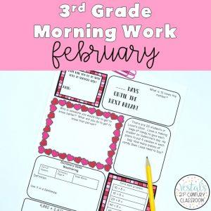 3rd-grade-morning-work-february