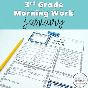 3rd-grade-morning-work-january