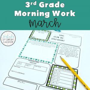 3rd-grade-morning-work-march