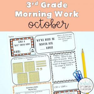 3rd-grade-morning-work-october