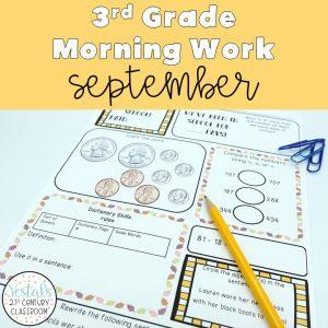 3rd-grade-morning-work-september